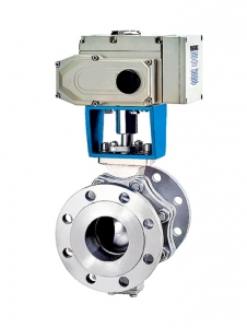 Electric Trunnion Mounted Ball Valve