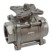 NPT or SWE Metal Seated Ball Valve